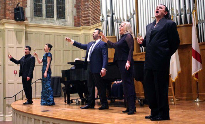 Vann Vocal Institute and Celebrity Recital Return to Delight Montgomery Audiences