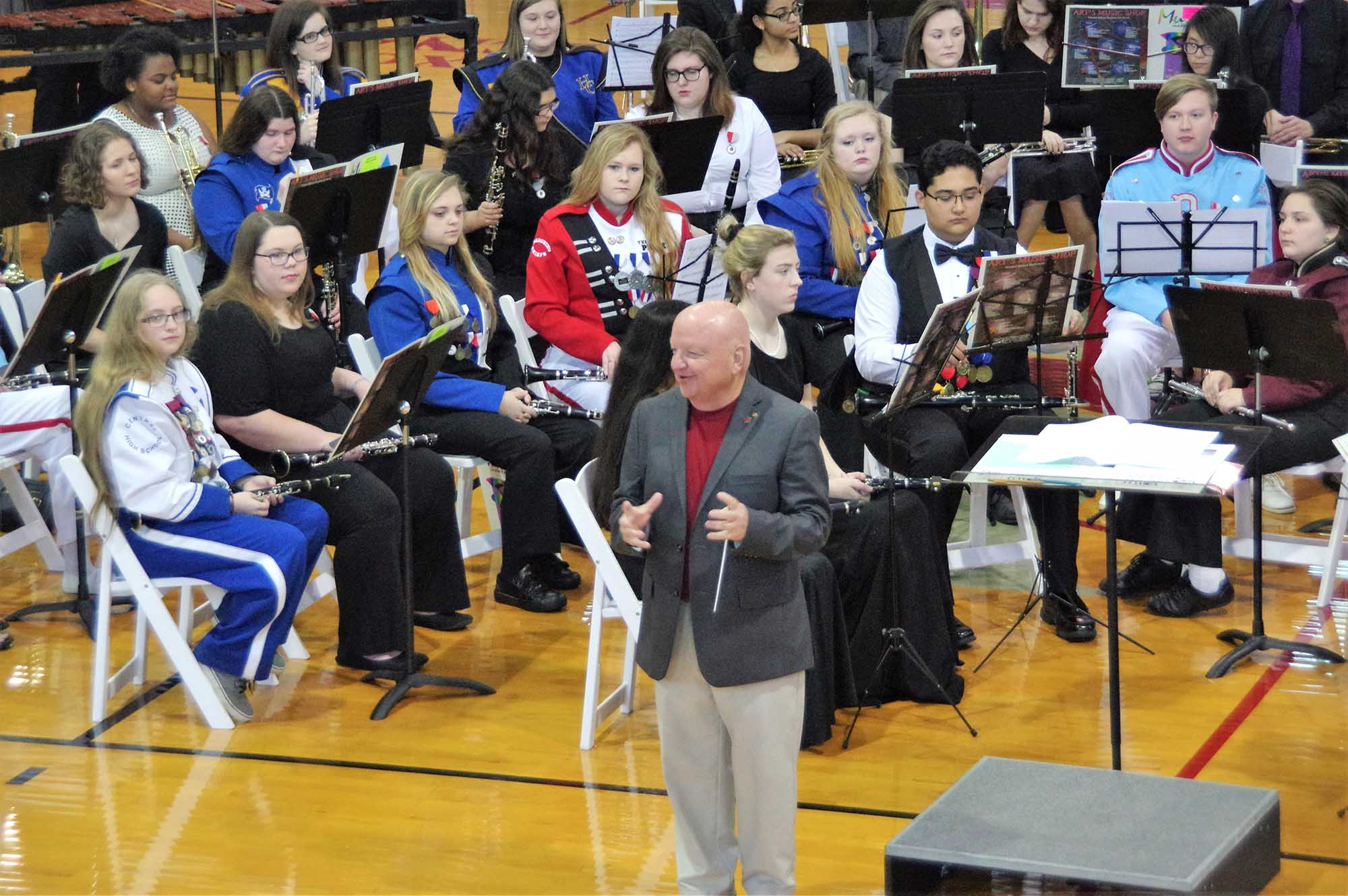 Winds and Jazz, Symphonic Honor Bands Perform
