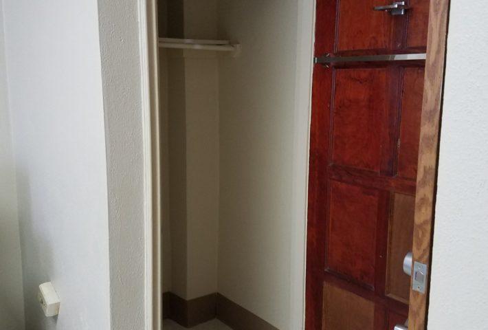 Ligon Hall Room Closet