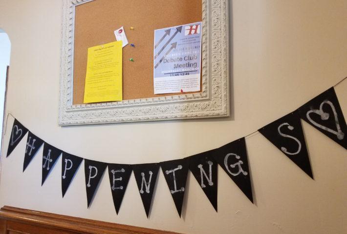 Ligon Hall Message Board