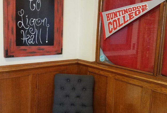 Lingo Hall Welcome Sign