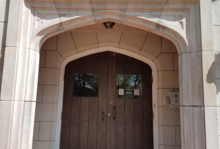 Ligon Hall Front Door