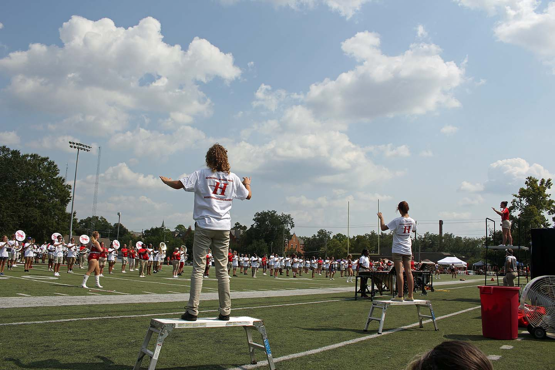Huntingdon Bands Host Marching Honor Band