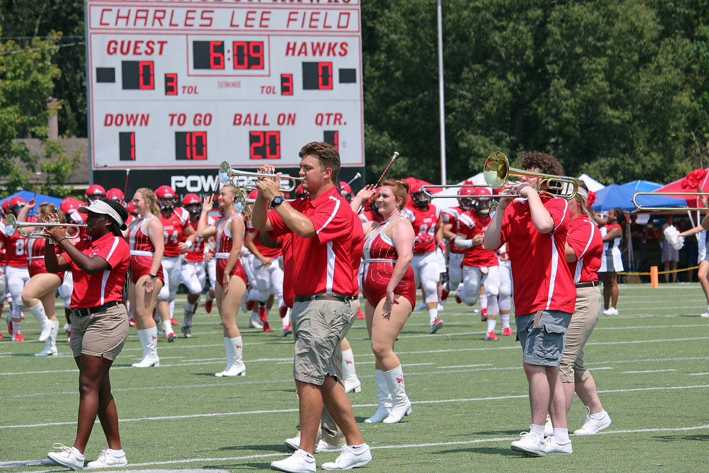 Huntingdon Marching Band Adds Dance Line