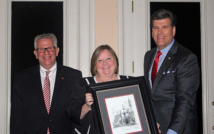 Alumni Loyalty Award winner Terri Smith Francis