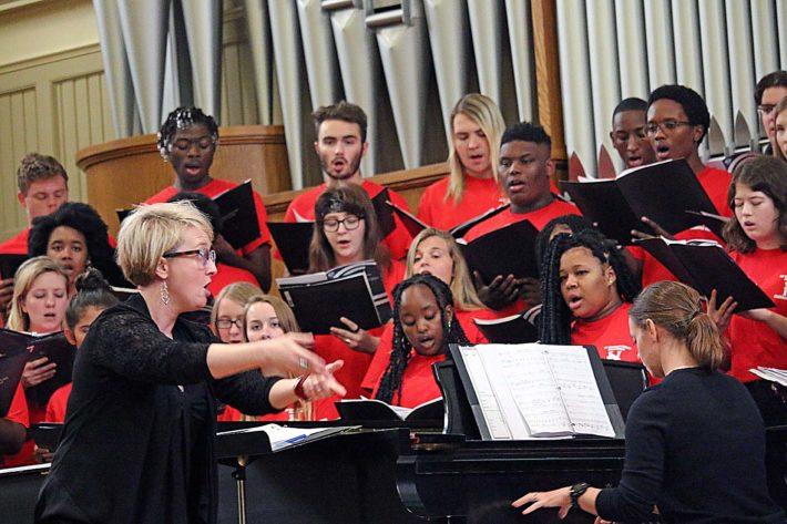 Huntingdon Hosts Choral Festival