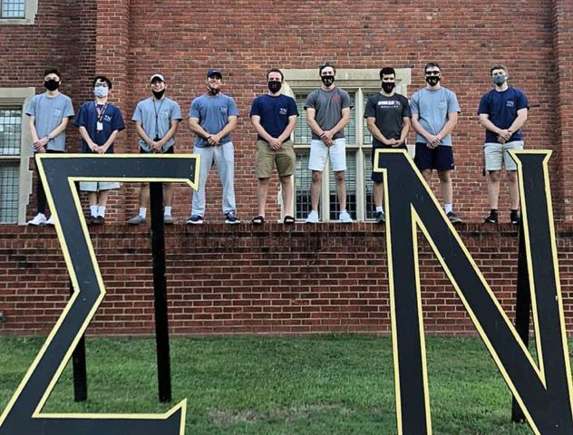 Huntingdon Sigma Nu Fraternity Achieves Rock Chapter Status