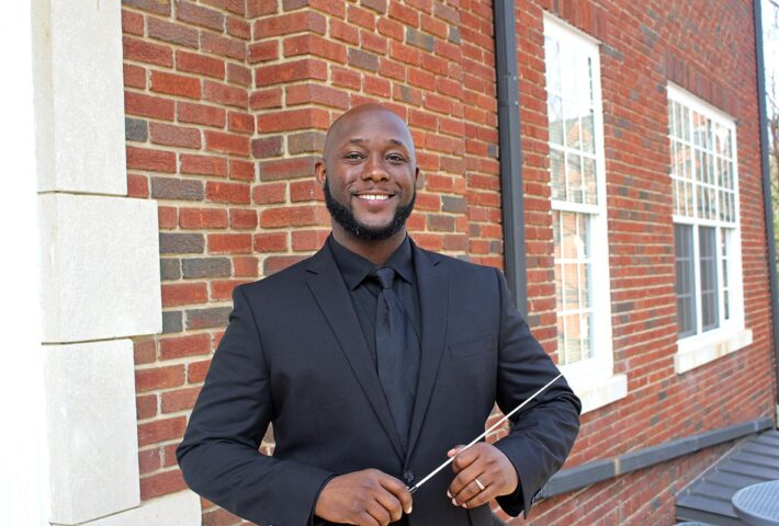Brandon Howard Joins Huntingdon Band Program