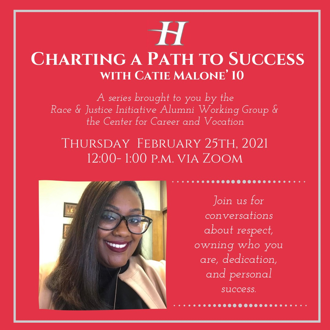 CCV Charting a Path to Success: Catie Malone '10