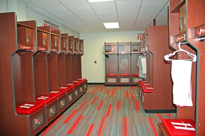 Mike Nelson '88 Baseball Locker Room