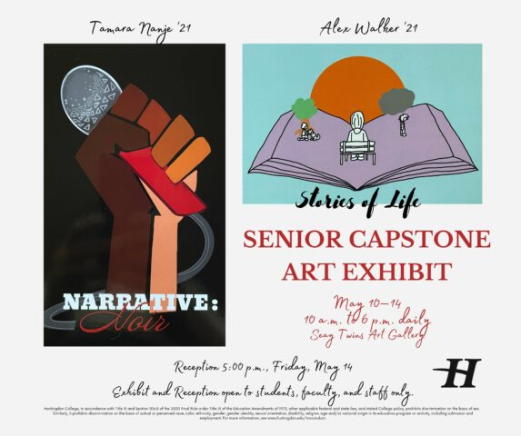 Huntingdon Art Students' Work Shown in Senior Capstone Exhibit