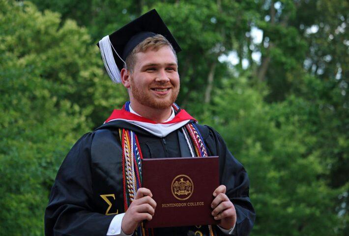 McNeilly Completes first Interdisciplinary Environmental Studies Minor