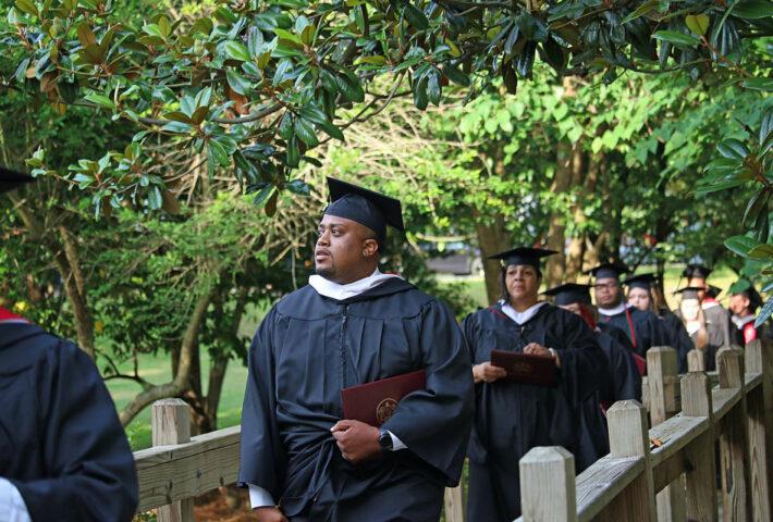 Sixty Graduate in Huntingdon Evening Studies Class of 2021