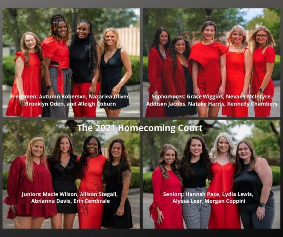 17 Huntingdon Women Elected to Homecoming Court