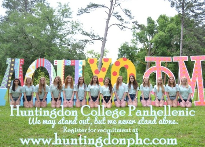 Huntingdon College Gamme Chis