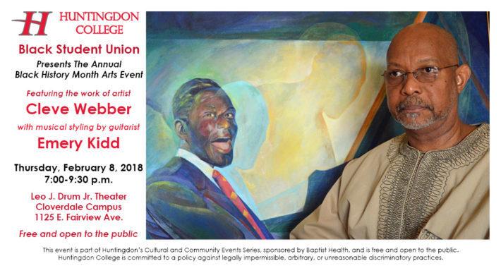 Black History Month Arts Event Add
