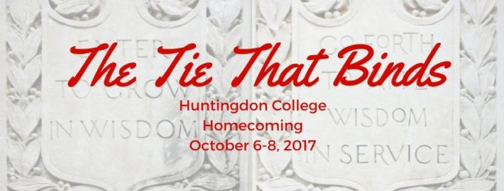 Homecoming logo 2017: The Tie that Binds
