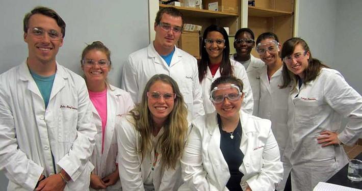 biochem students