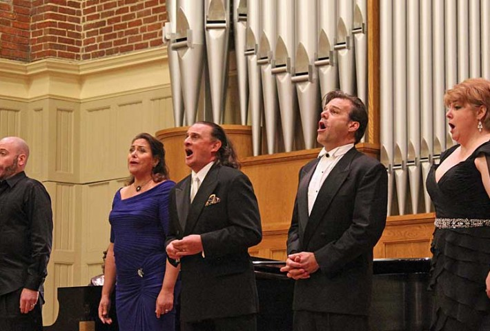 Vann Vocal Institute Celebrity Recital photo