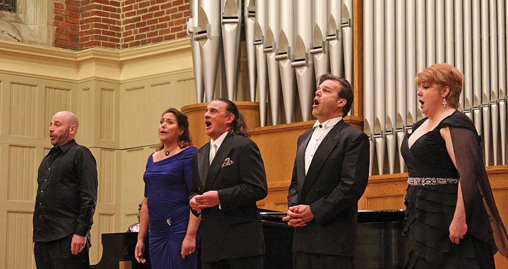 Opera stars converge on stage at Huntingdon College