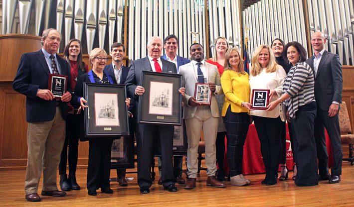 Huntingdon Honors Alums During Homecoming