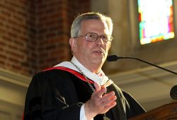 President J. Cameron West at Baccalaureate 2014