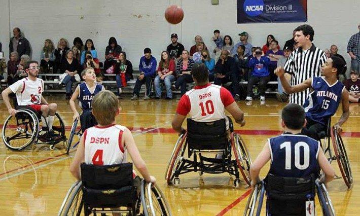 Huntingdon Red Wings wheelchair basketball