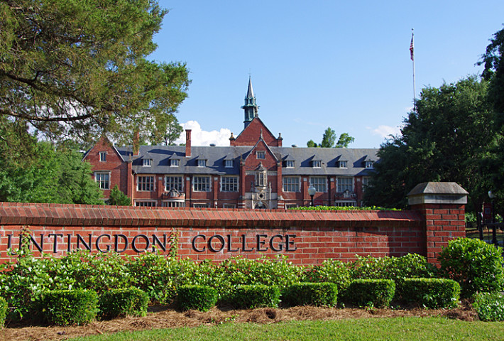 Huntingdon main entrance