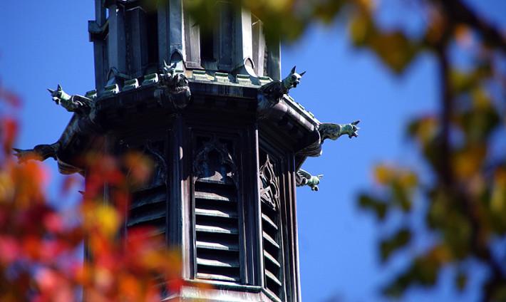 Flowers Hall steeple