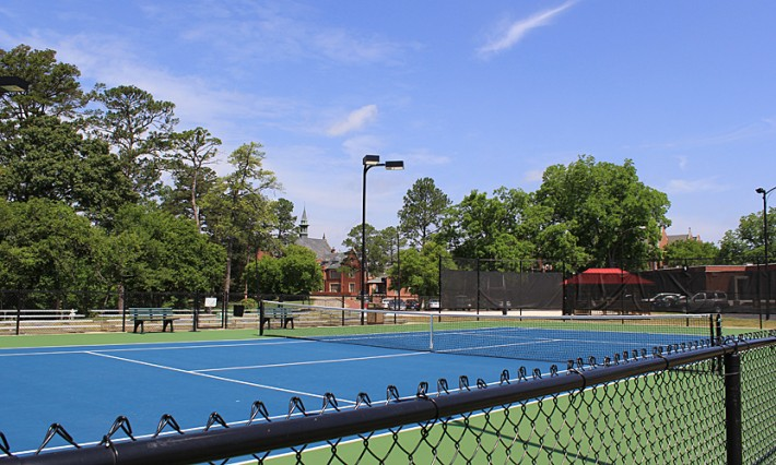 Gibbs Tennis Center Championship Court