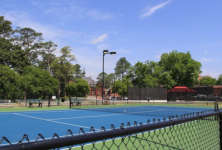 Gibbs Tennis Center Championship Court