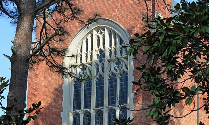 Chapel Window exterior