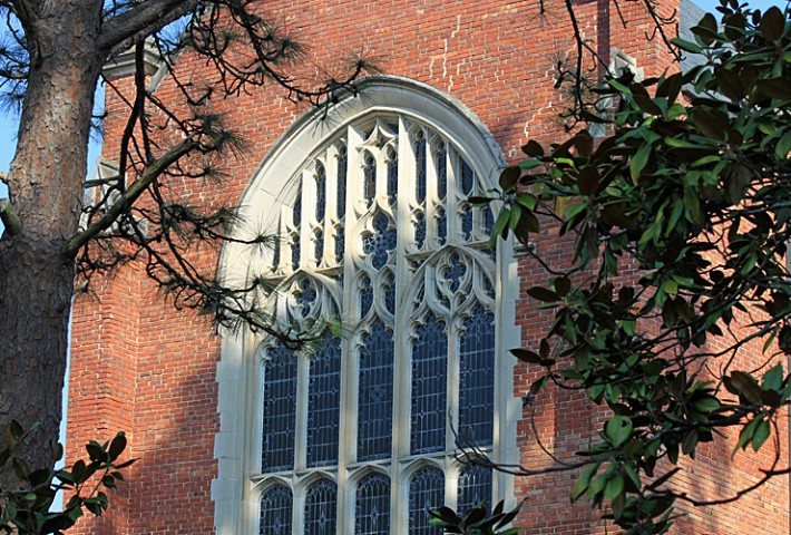 Chapel Window exterior