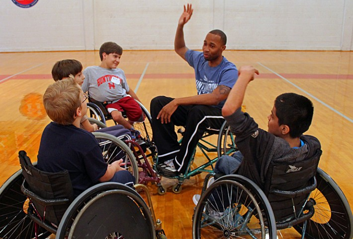 wheelchair athletics