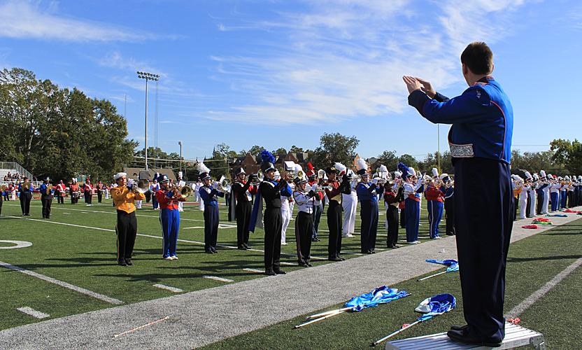 Huntingdon hosts Marching Honor Band