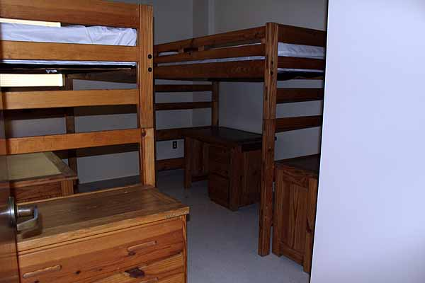 photo of cluster-style bedrooms