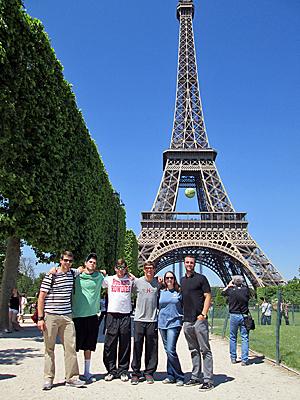 Huntingdon in Paris, 2014