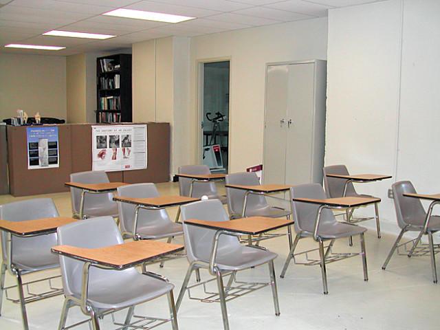 Weil Center classroom