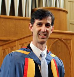 Dr. Jason Borders at Honors Convocation