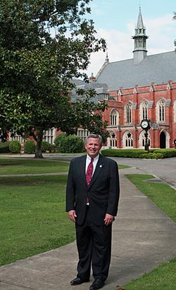 President J. Cameron West