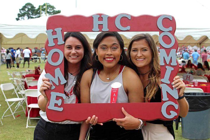 alumni at Homecoming