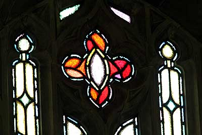 Ligon Chapel window