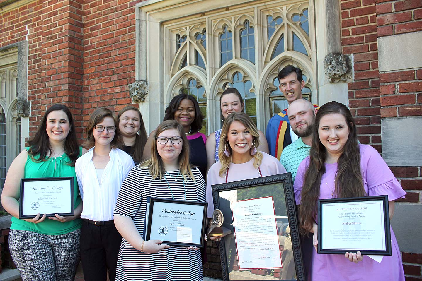 Huntingdon Students Inducted into Honor Societies