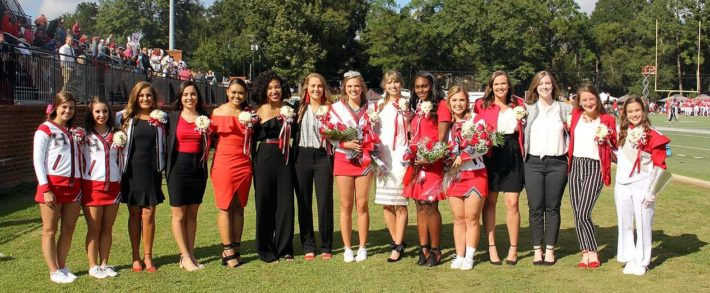 Huntingdon Students Named to 2018 Homecoming Court