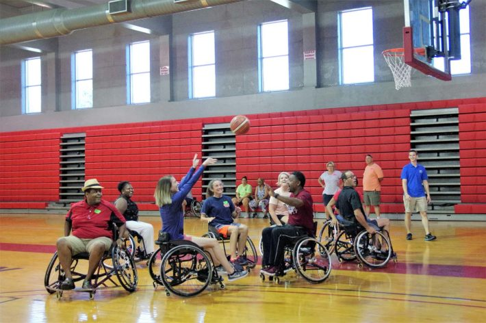 Huntingdon Co-Hosts Adapted PE Workshop
