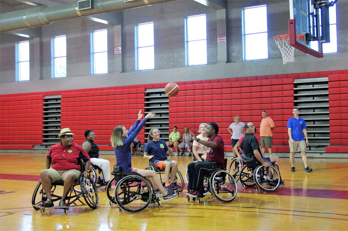 Huntingdon Co-Hosts Adapted P.E. Workshop
