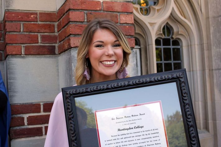 Huntingdon Awards Convocation Honors Scholarship, Leadership, and Service