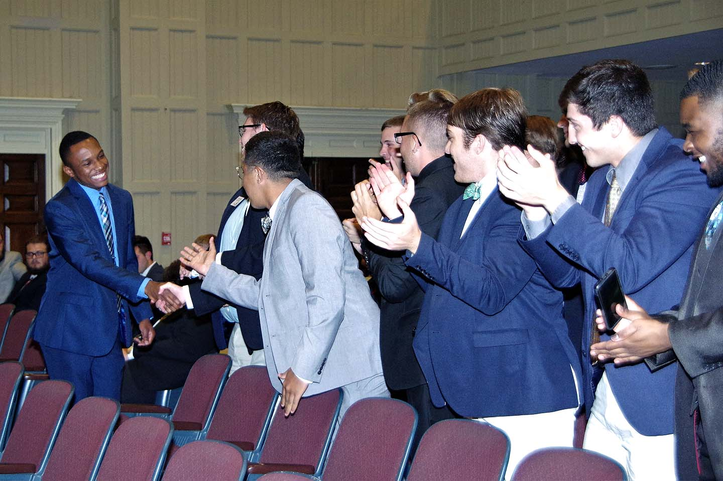 Huntingdon Men Pledge Fraternities