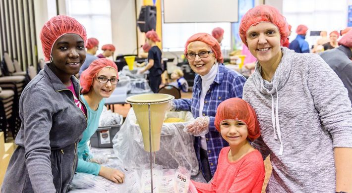 Huntingdon Partners with Rise Against Hunger for MLK Day of Service