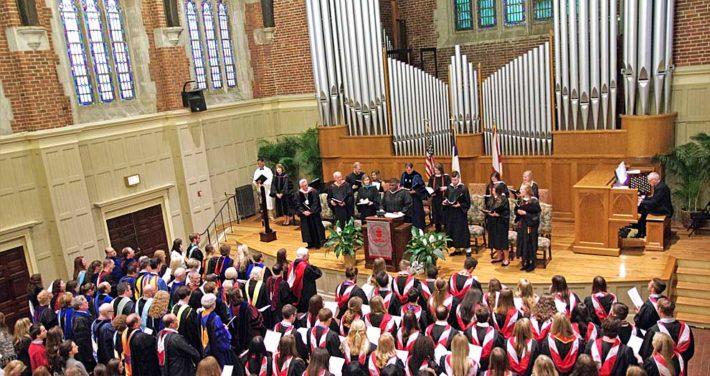 2017 Baccalaureate service